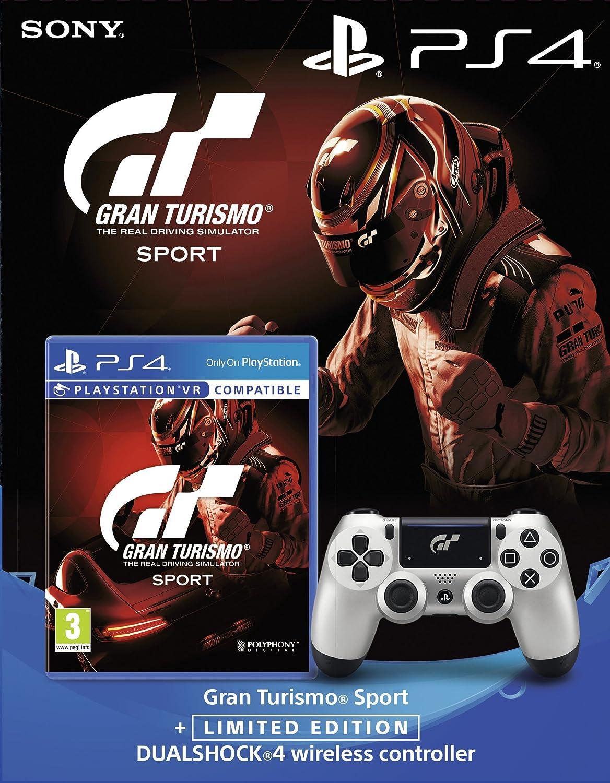 Gran Turismo Sport + Limited Edition GT DualShock 4 Controller (PS4) [importación inglesa]: Amazon.es: Videojuegos