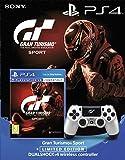 Sony Gran Turismo Sport + PlayStation DualShock 4 Controller GT Sport Limited Edition Bundle
