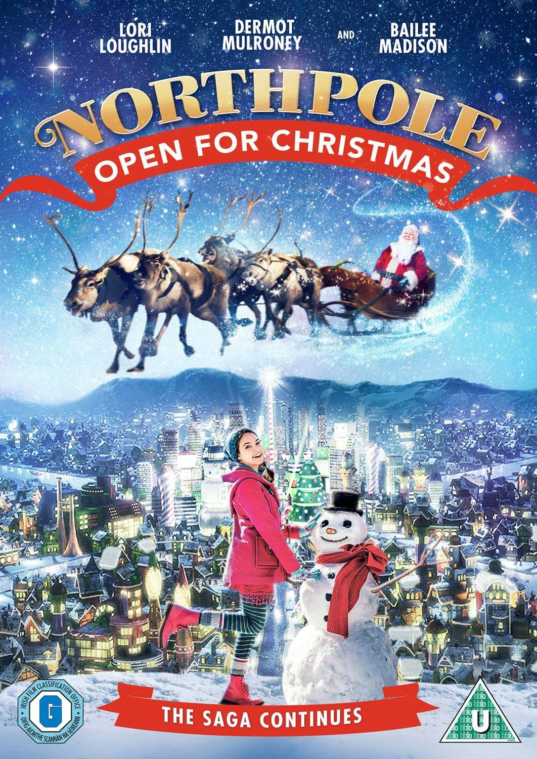 Northpole: Open For Christmas [DVD]: Amazon.co.uk: Lori Loughlin ...