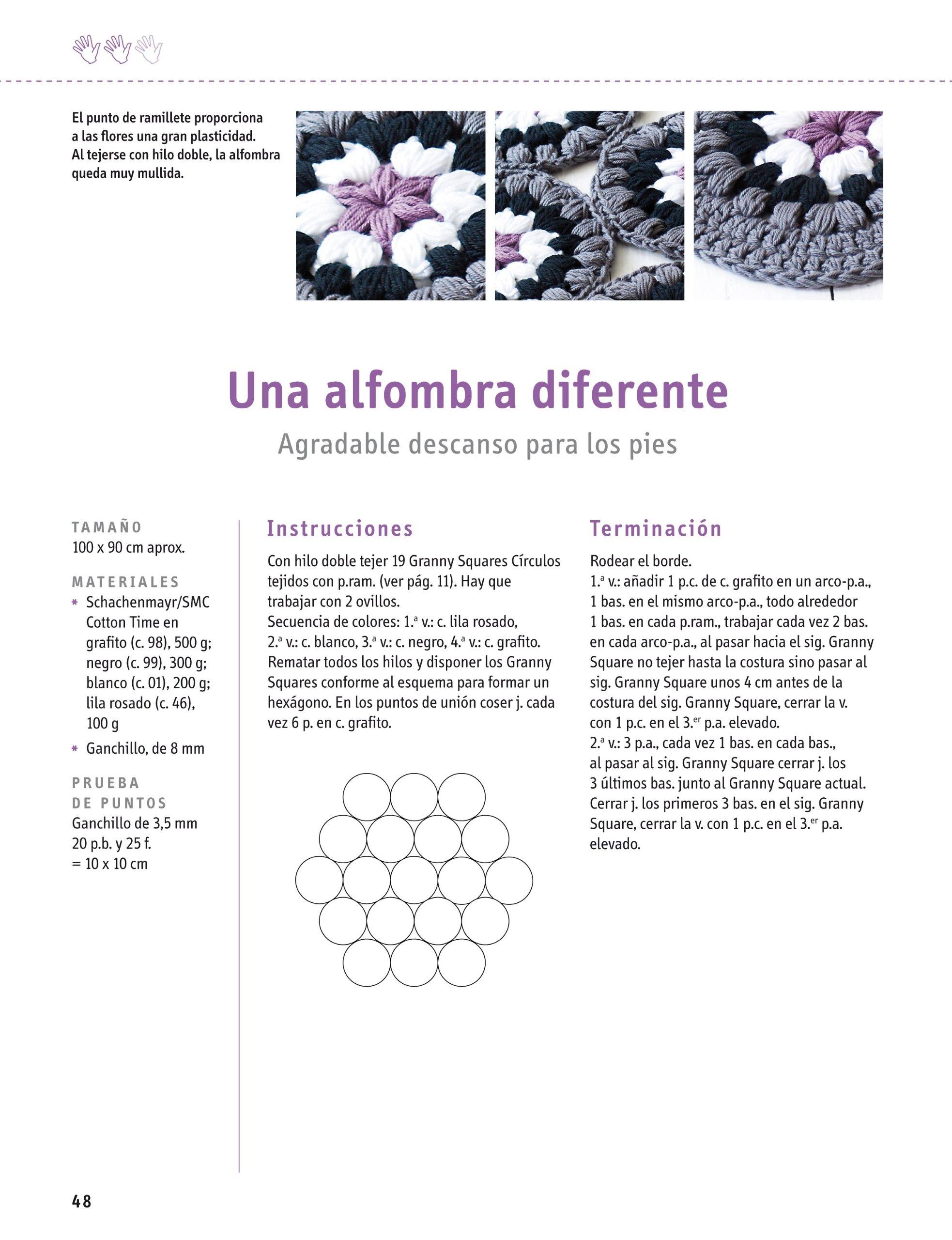 Granny Squares Modernos. Nuevas Formas De Ganchillo Cp ...