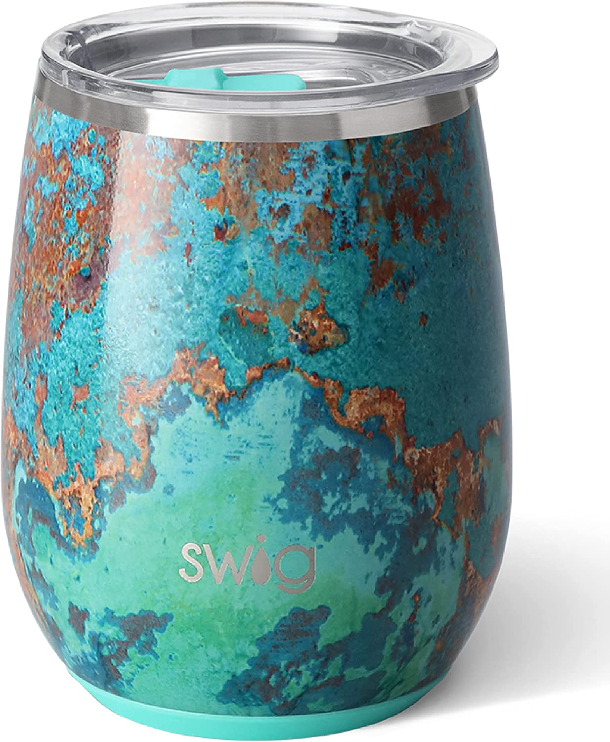 Stainless Steel Insulated Stemless Wine Tumbler 14 oz
