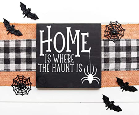 Rummy Haunt Is Where The Home Is - Cartel de Madera: Amazon ...