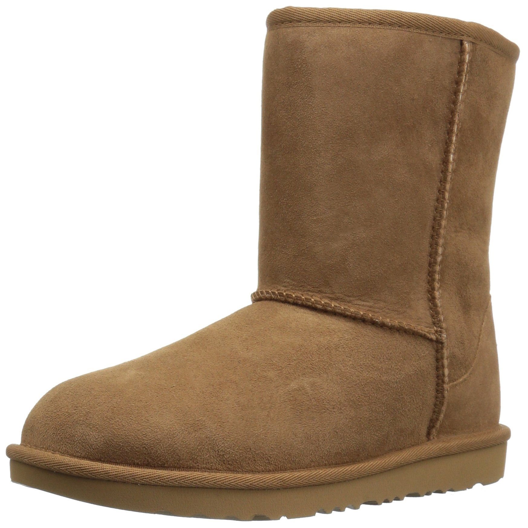 UGG Kids K Classic II Fashion Boot, Chestnut, 3 M US Little Kid by UGG
