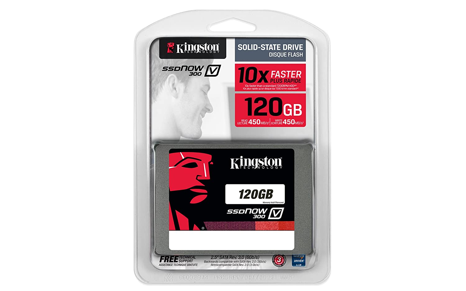 Buy Kingston V300 Ssdnow 120gb Sata 3 25 Solid State Ssd Vgen 120 Gb Drive Online At Low Prices In India Reviews Ratings