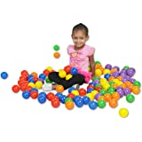 ECR4Kids Softzone Polyurethane Balls, 120-Pack,, Colors Vary