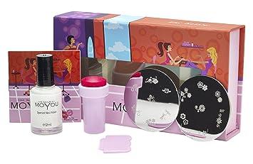 Amazon.com : MoYou Nails Original Kitty Set Nail Art Stamping Gift ...