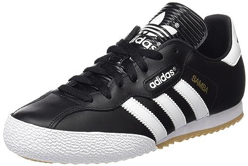 finest selection d5e99 06ed0 adidas Uomo Samba Super scarpe sportive, Nero (Black running White Ftw),