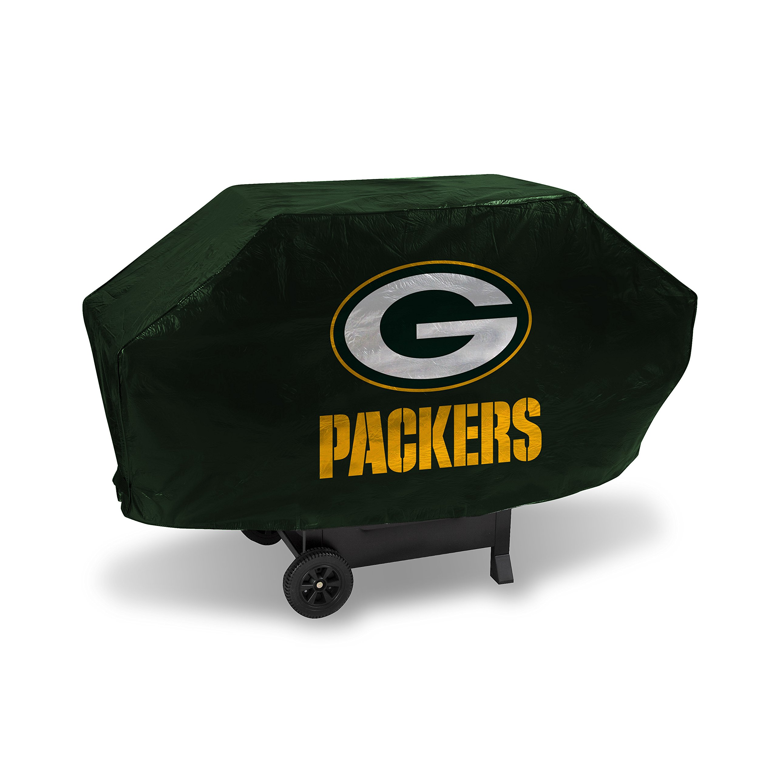 NFL Green Bay Packers Vinyl Padded Deluxe Grill Cover