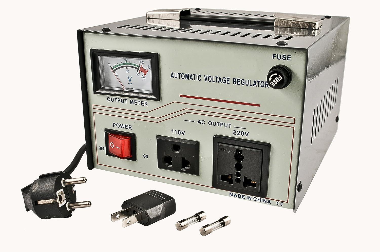 Best 3000 Watt Voltage Converter Stabilizer 110 220 Volt 3000W Transformer US MA