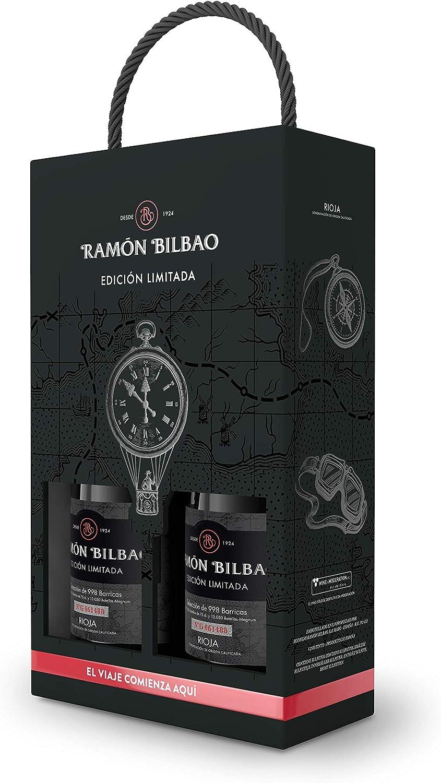 Ramón Bilbao Vino Tinto Edición Limitada - Estuche 2 botellas 700 ml: Amazon.es: Alimentación y bebidas