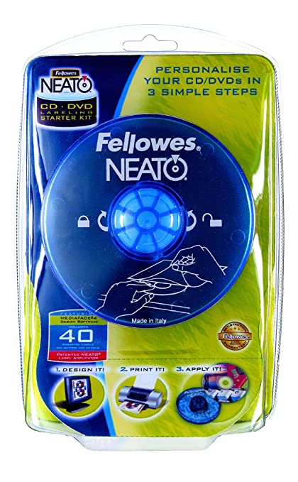 Fellowes Neato CD/DVD Labeling System CD/DVD - Etiquetas de ...