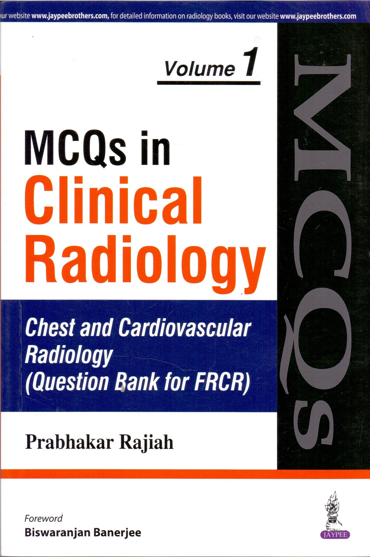 Buy MCQS in Clinical Radiology Neuroradiology Chest and