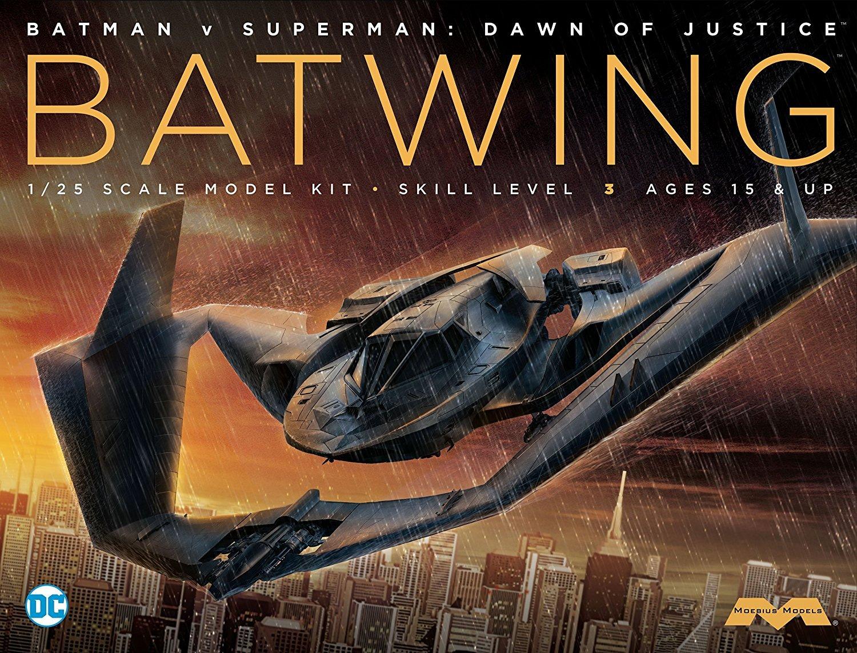 Moebius 1: 25 batplane de Batman Vs Superman Modelo Kit mmk969