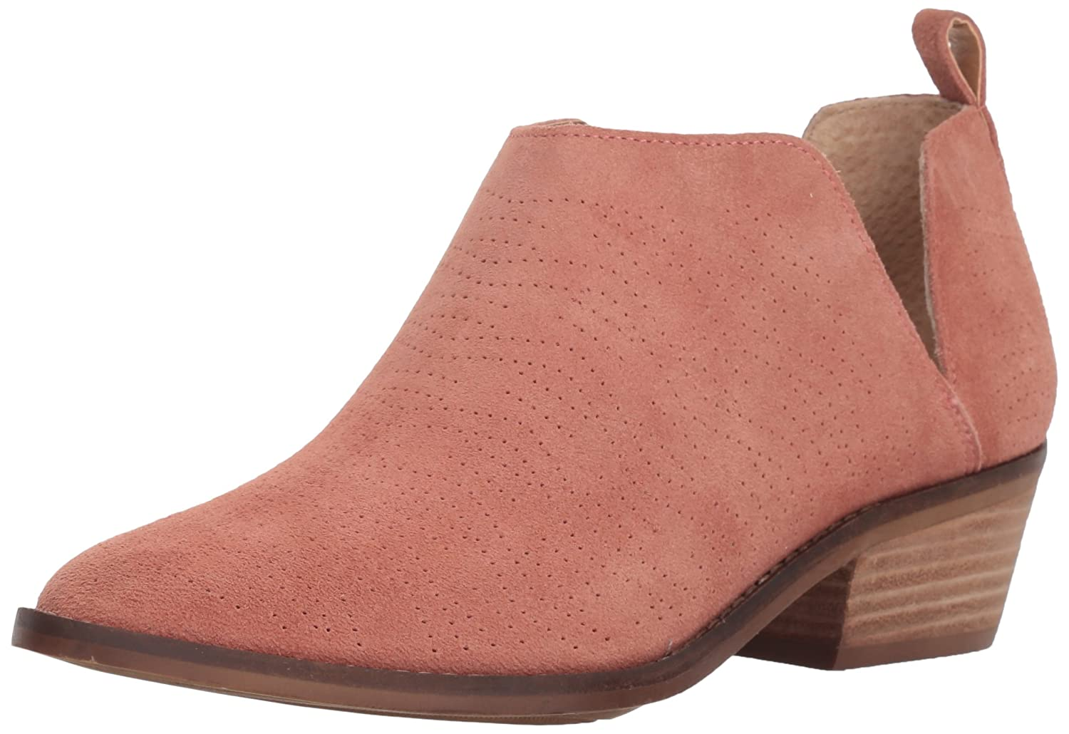Lucky Brand Women's Fayth Ankle Boot B077JHT742 12 M US|Canyon Rose