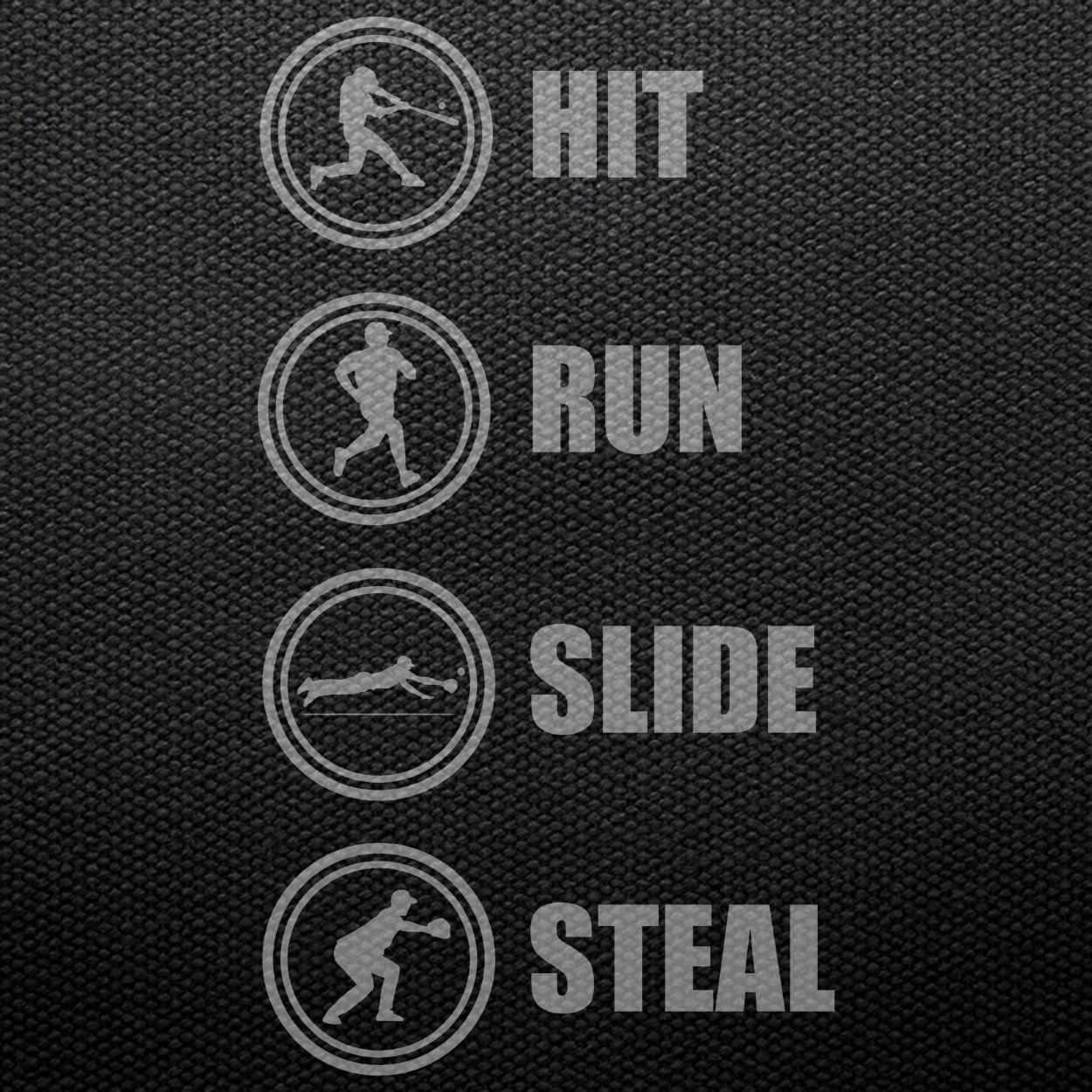 Teechopchop Hit Run Slide Steal,Baseball Lovers Gift Players Referee COA Tank Top
