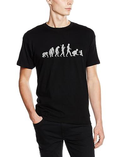 Camiseta La evolución del hombre a padre - Regalos para el día del Padre