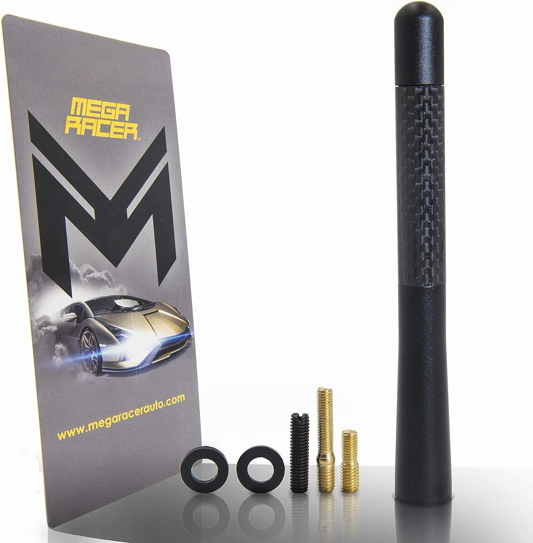 Mega Racer Carbon Fiber Short Automotive Antenna