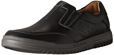 Clarks Men's UnRhombus Twin Black Leather 7 ...