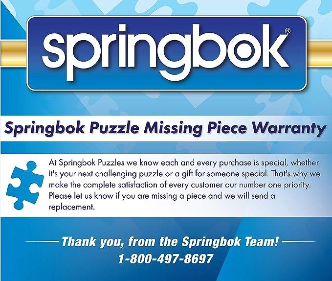 Springboks 500 Piece Jigsaw Puzzle Cookie Tins