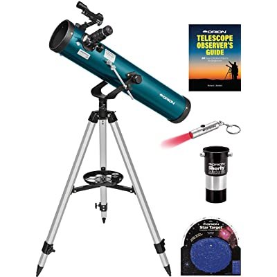 Orion SpaceProbe II 76mm Altazimuth Reflector Telescope Kit: Camera & Photo