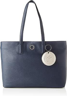Mandarina Duck Mellow Leather, Bolso Bandolera para Mujer, 15x27x36 Centimeters (W x H x L)