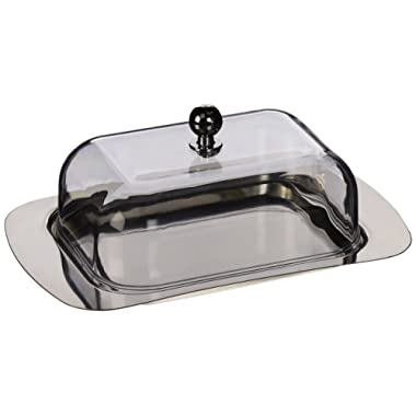 ExcelSteel #299 Stainless Steel Butter Dish