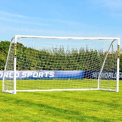 FORZA Match Portería de Fútbol de PVC Impermeable (3,7m x 1,8m ...