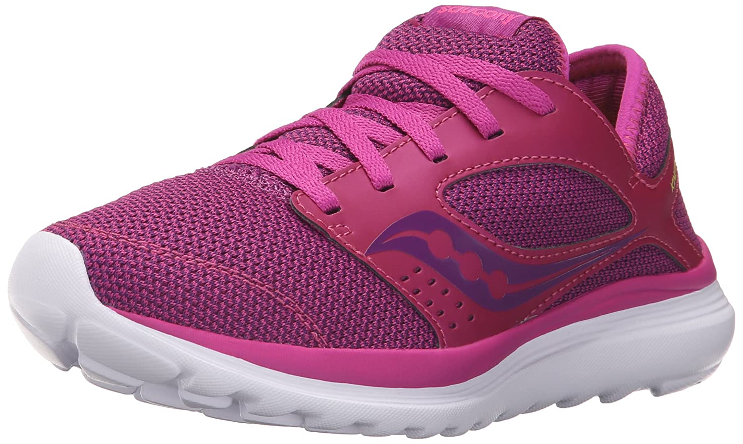 Saucony Women's Kineta Relay Running Shoe B018FC5HO8 5 B(M) US|Fuschia/Beer