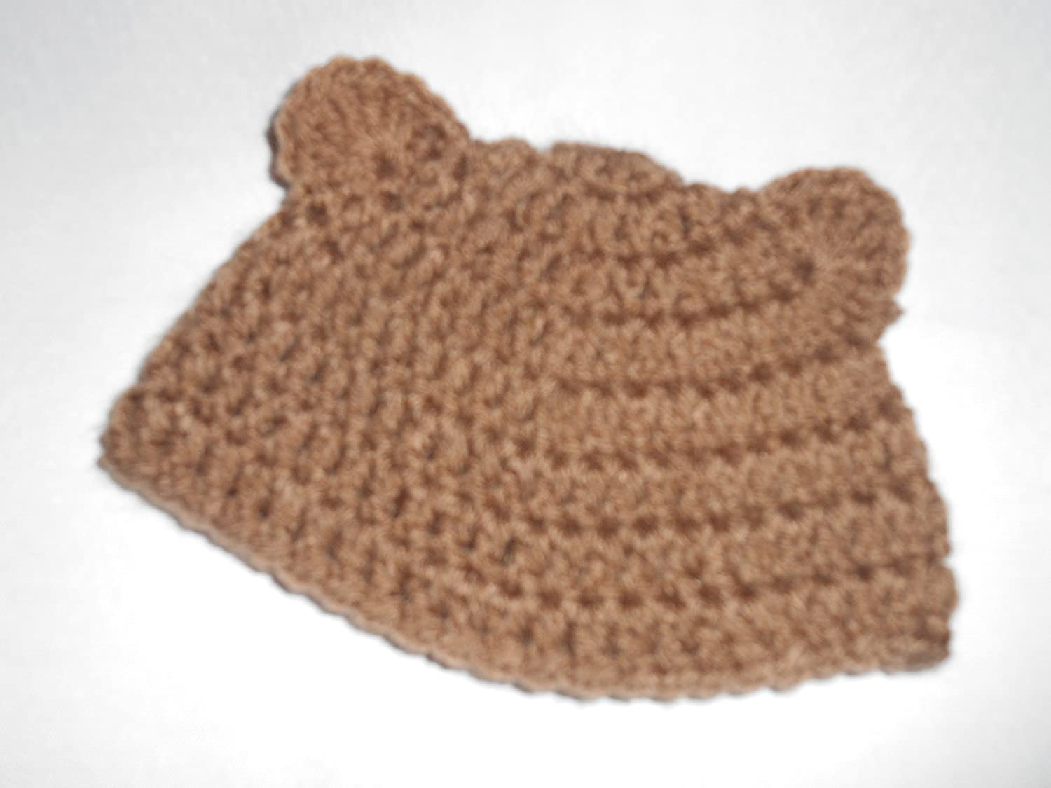 Teddy Bear Doll Hat fits AmericanGirl and similar size dolls