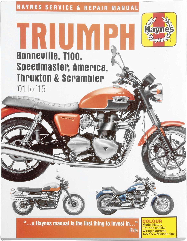 [DIAGRAM_4FR]  Amazon.com: MANUAL TRIUMPH SUPERBIKE 01-05: Automotive | Triumph Speedmaster Wiring Diagram |  | Amazon.com