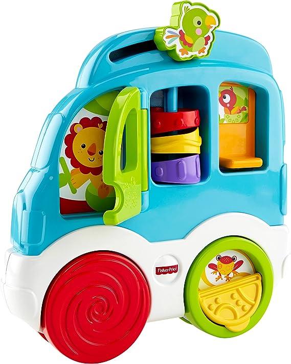 Infant - Coche, sorpresas divertidas Fisher-Price (Mattel CMV93) , color/modelo surtido: Amazon.es: Juguetes y juegos