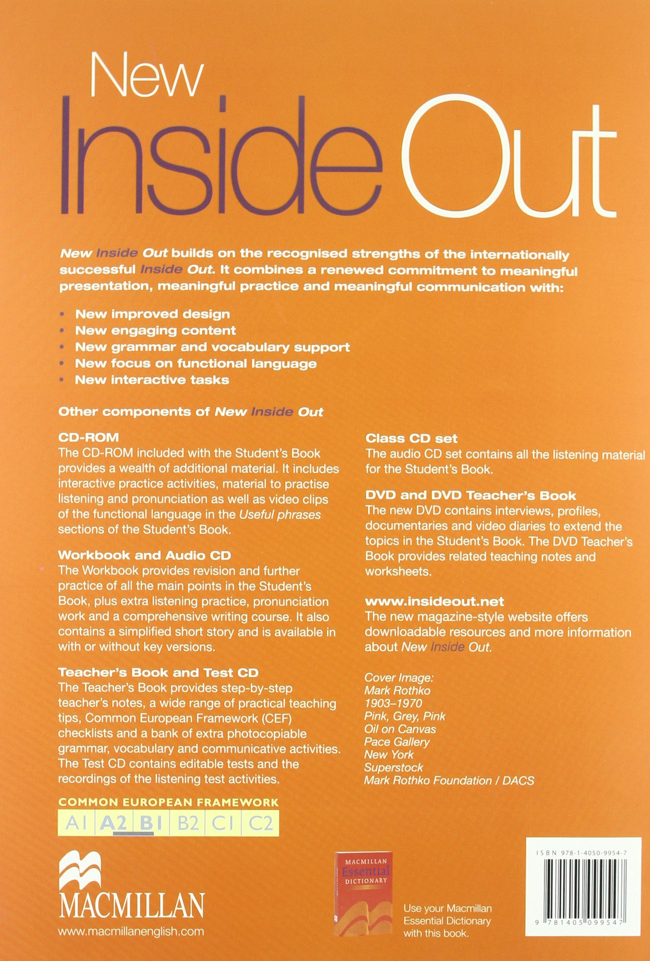 New Inside Out Student Book Pre Intermediate With CD Rom: Sue Kay, Vaughan  Jones: 9781405099547: Amazon.com: Books