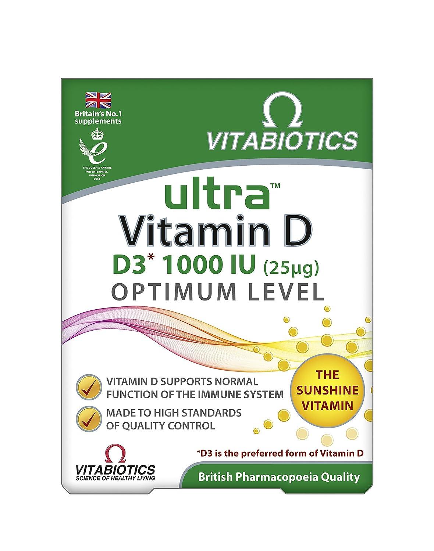 Ultra Vitabiotics Vitamin D, 96 Tablets: Amazon.co.uk: Health ...