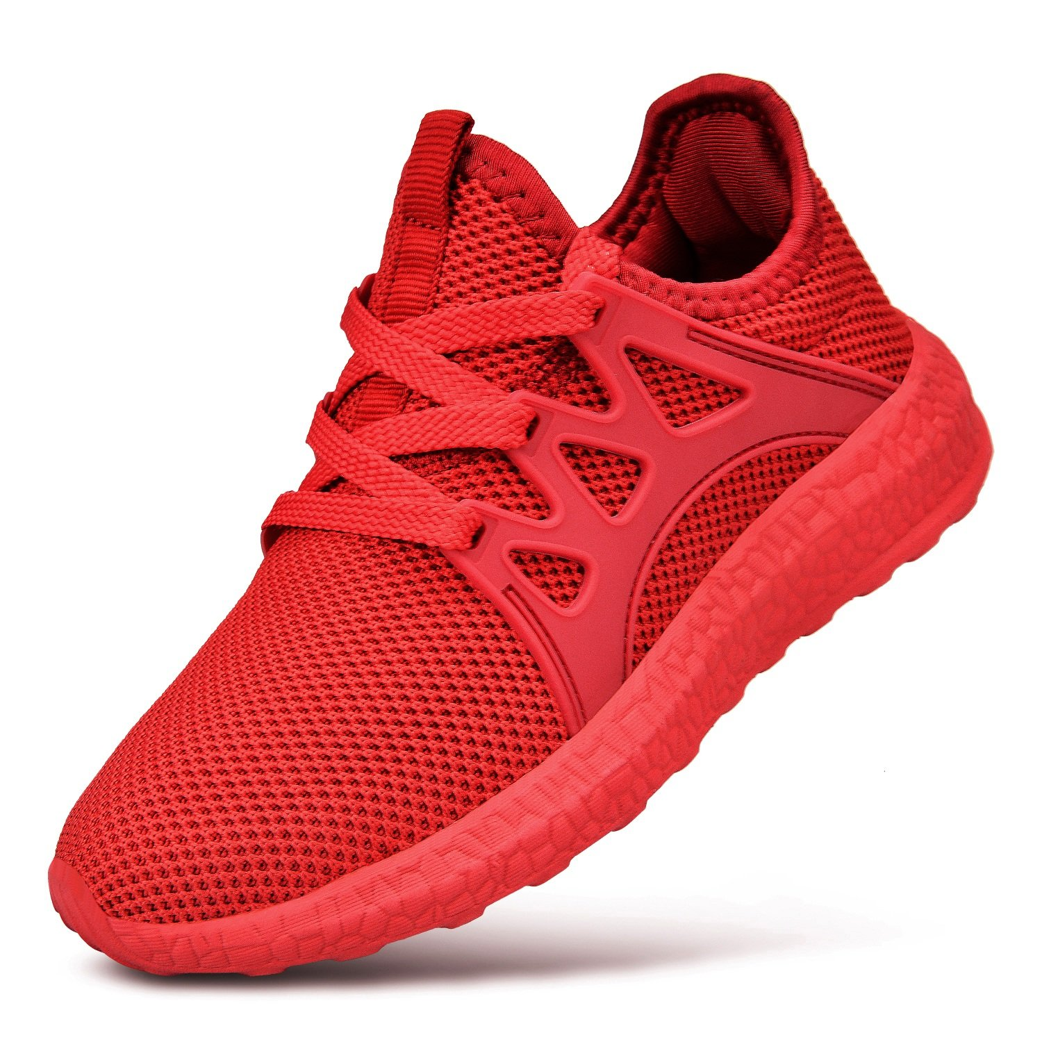 QANSI Child Kids Fashion Sneakers Ultra Lightweight Breathable Athletic Running Walking Tennis Shoes for Girls Boys F036@#Child