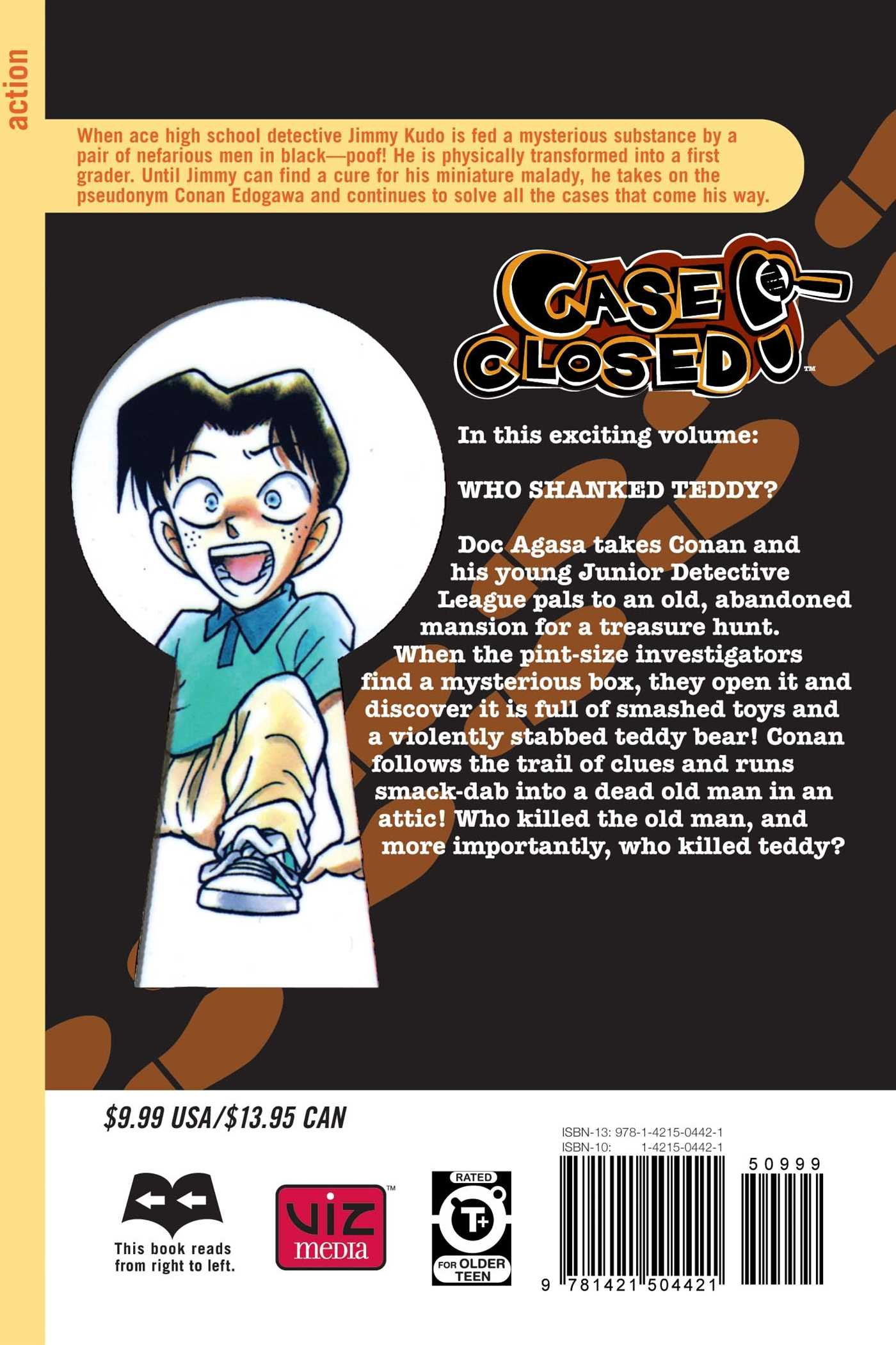 Case Closed, Vol. 12: Who Shanked Teddy?