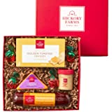 Hickory Farms Meat & Cheese Sampler Size Gift Box   Gourmet Food Gift Basket Perfect For Snacking, Birthday, Sympathy, Congra