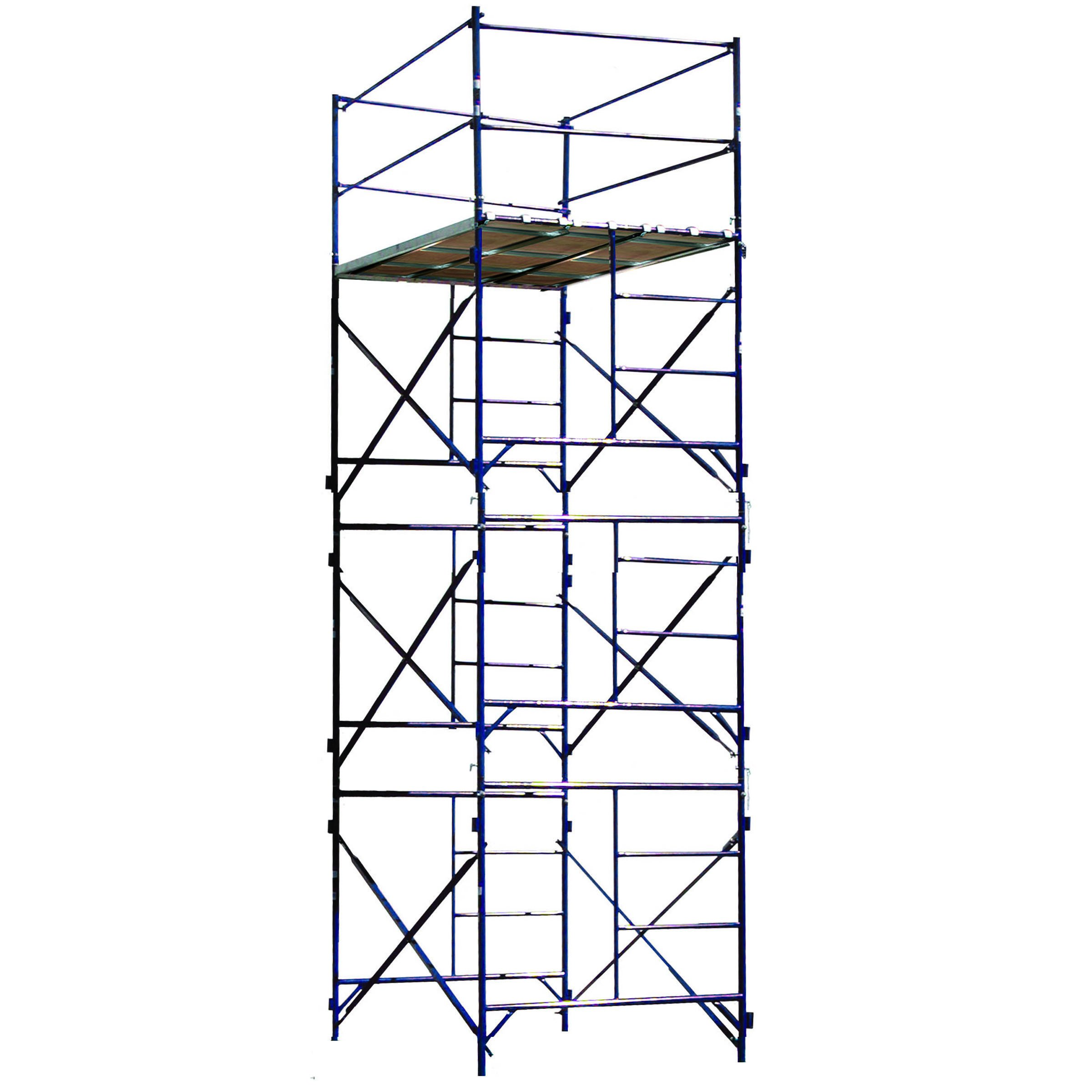 Buffalo Tools TOWER3A Three Story Stationary Scaffold Tower