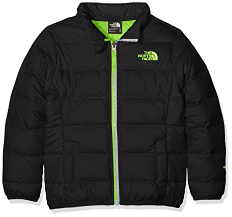 c886027b7d THE NORTH FACE Jungen B Andes Jacket Jacke, Schwarz - Tnfblck/Saftygn, XL