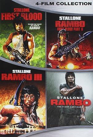 Amazon com: Rambo Complete Collection: Movies & TV