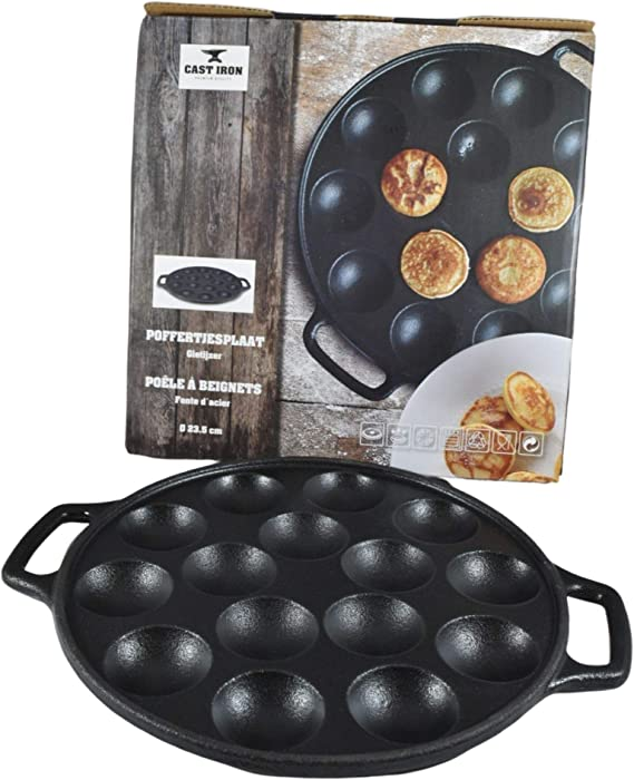 Back Plate Kitchens Poffertjes 14x Mini Pancake Maker Nonstick coated modern new
