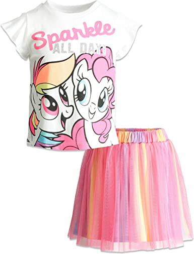 4T 3T NEW Baby Toddler Girl Clothes My Little Pony T-shirt Size 2T 5T
