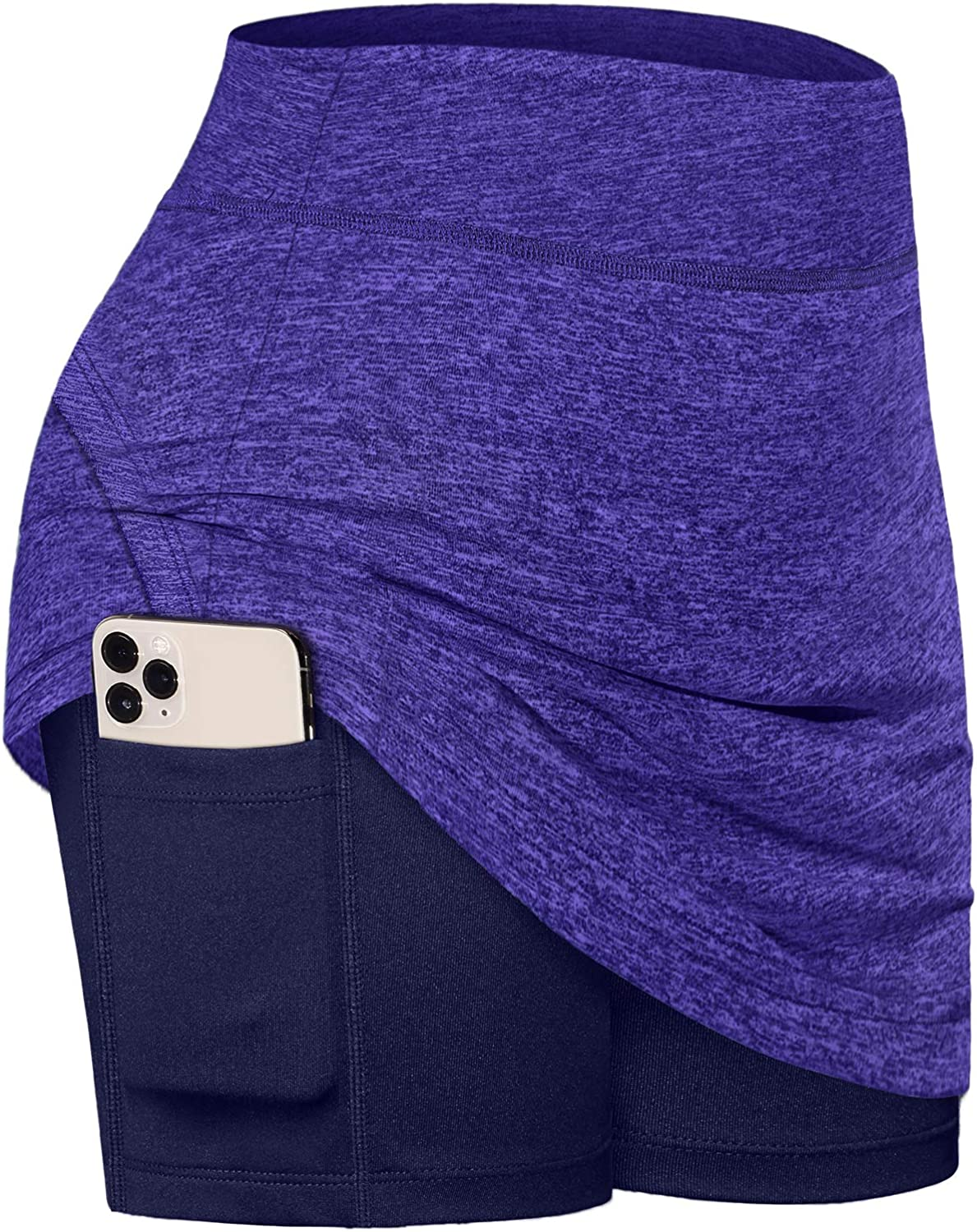 Amazon.com: Fulbelle Casual Skirts for Women, Teen Girls Summer Athletic  Tennis Skirt Golf Skorts with Pockets Workout Running Sport Inner Shorts  Sporty Spandex Training Outfit Purple Large: Clothing
