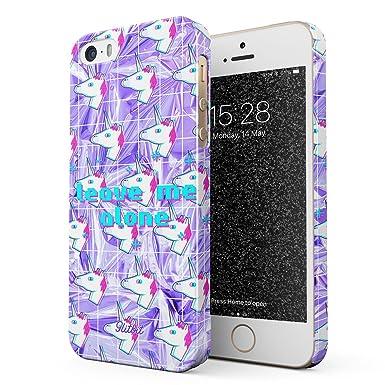 5s Glitbit Funda para iPhone 5 SE Case Pastel Rainbow Unicorn
