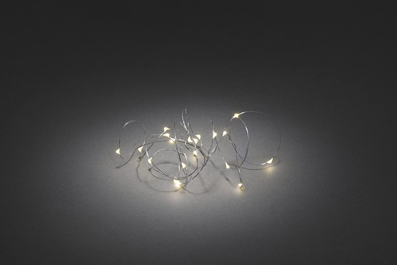 Konstsmide 1460-190 Micro LED Lichterkette/für Innen ...