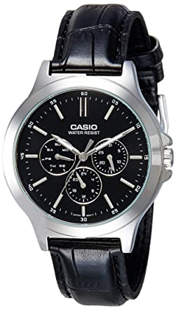 cc9ee97ccbee Buy Casio Analog Black Dial Men s Watch - MTP-V300L-1AUDF (A1176 ...
