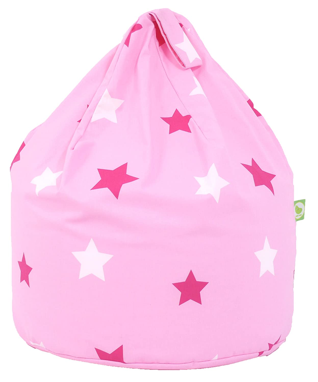 Cotton Pink Stars Bean Bag Child Size Amazoncouk Kitchen Home