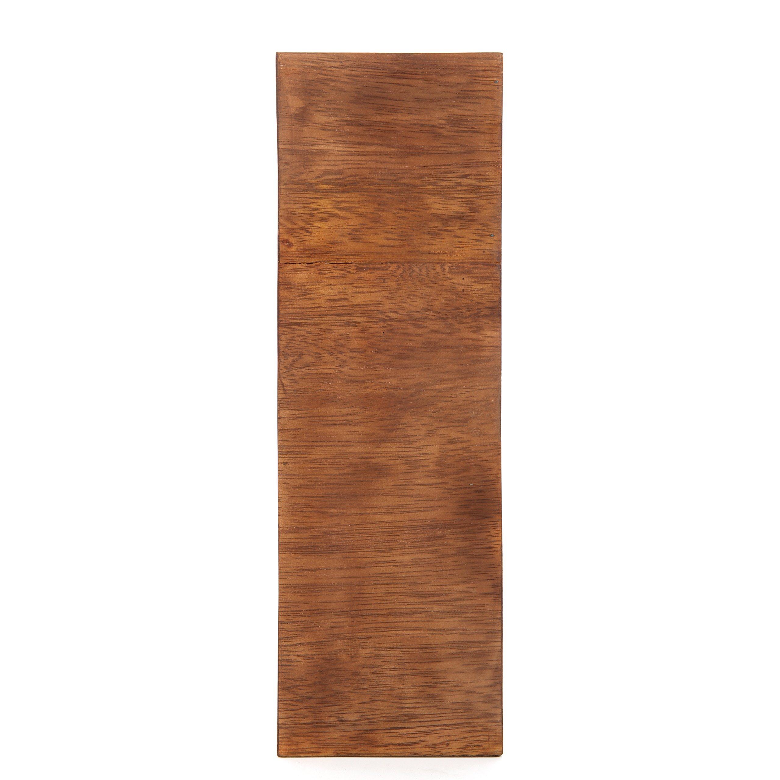 Hosley 16'' High Brown Wood Planter. Ideal for Wedding or Special Occasion; for Dried Floral Arrangements P2
