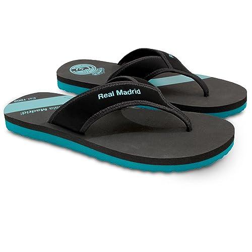 sale retailer 3b6ae 506c1 Real Madrid Di Stefano Mens Flip-Flop Sandal, Slipper for Pool Beach &  Shower