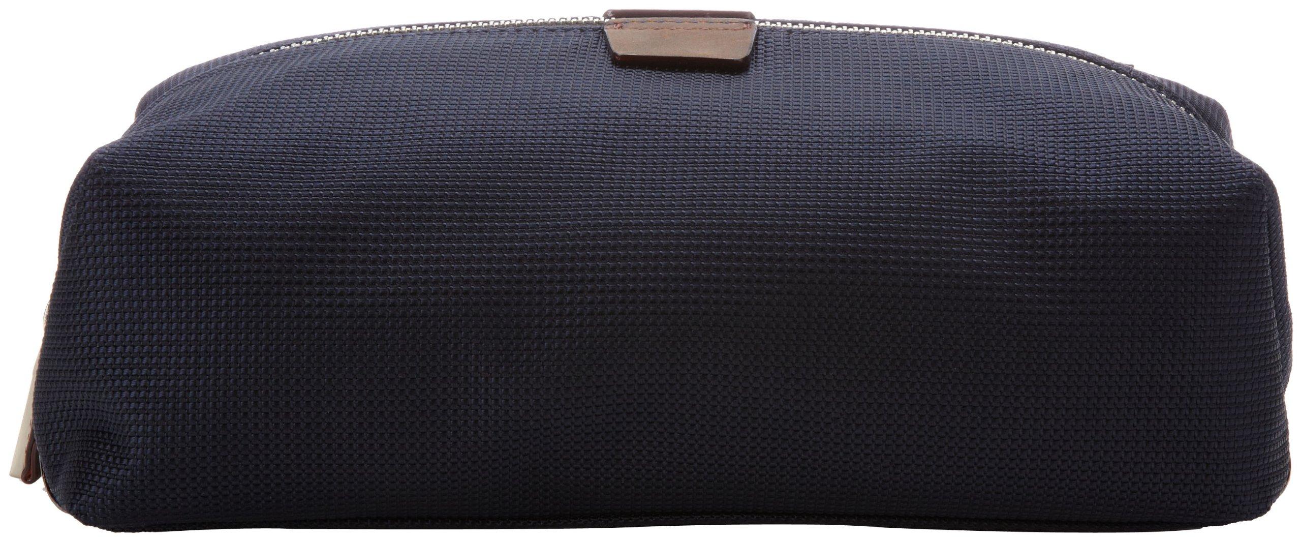 Jack Spade Carryall Case Travel Kit,Navy,One Size