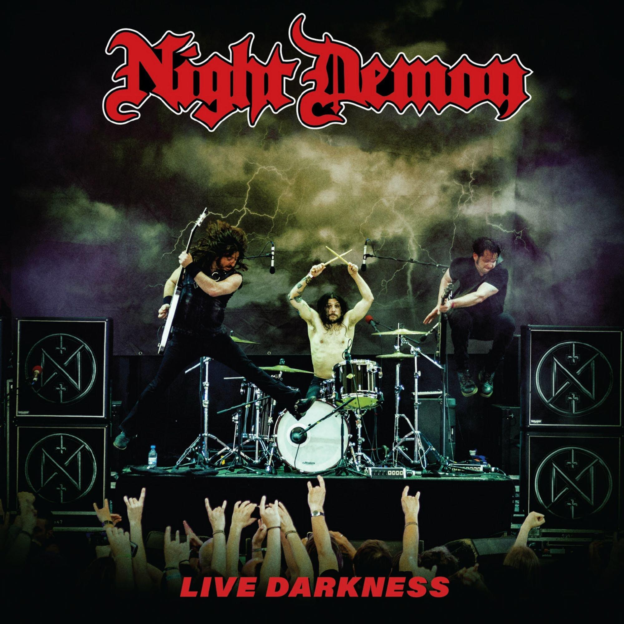 Vinilo : Night Demon - Live Darkness (3PC)